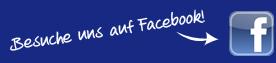 Facebook Button zu unserer Facebook-Seite